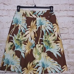 {Tommy Bahama} lined skirt